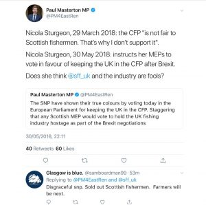 The SNP and fishing