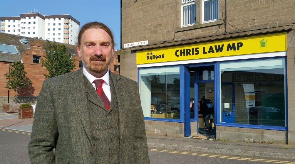 Dundee SNP MP Chris Law faces legal action from one of party's city councillors